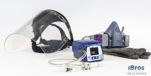 Aspirator osobisty SidePak AM520 pyłomierz osobisty pomiar pyłu w miejscu pracy
